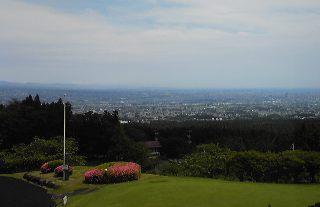 霞山からの景色