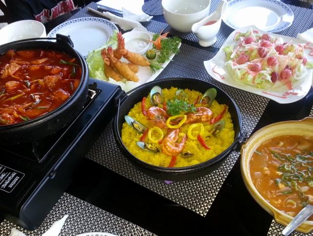 フィリピン、韓国料理