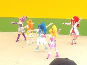 プリキュア5人縮