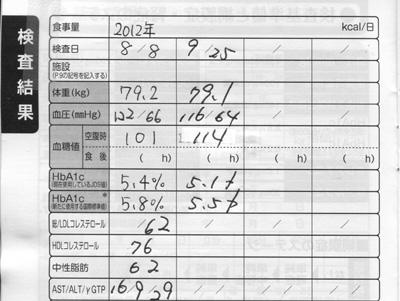 糖尿手帳001