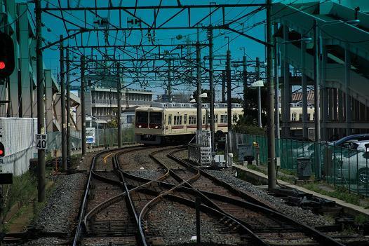 新京成線急カーブ2