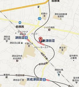新京成線急カーブ1