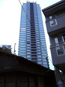 黄昏の六本木プリンス3(タワー)