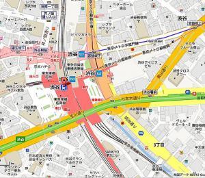 渋谷駅地図