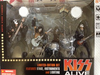 KISS ALIVE BOX