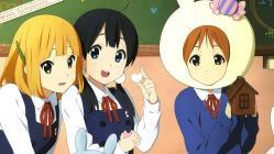 169yande.re 237718 horiguchi_yukiko kitashirakawa_tamako makino_kanna pantyhose seifuku tamako_market tokiwa_midori tori_(tamako_market) valentine