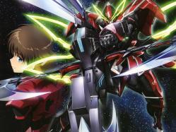43yande.re 255625 gun kakumeiki_valvrave mecha sashinami_shouko sword tokishima_haruto