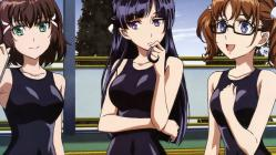169yande.re 253274 kakumeiki_valvrave megane nagatomi_kouji nanami_rion rukino_saki sakurai_aina sashinami_shouko school_swimsuit swimsuits