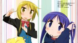 169ayande.re 256157 cosplay crossover hinata_yukari ichii_yui kiniro_mosaic nonohara_yuzuko pantyhose tabata_hisayuki yuyushiki