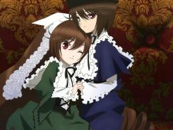43263523 heterochromia lolita_fashion rozen_maiden souseiseki suiseiseki