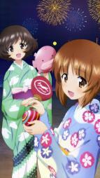 5262961 akiyama_yukari girls_und_panzer nishizumi_miho yukata