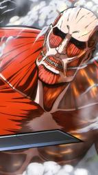 255181 armin_arlelt eren_jaeger kikuchi_toshihiro mikasa_ackerman monster shingeki_no_kyojin