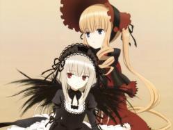 43266272 dress gothic_lolita lolita_fashion rozen_maiden shinku suigintou ueda_kazuyuki