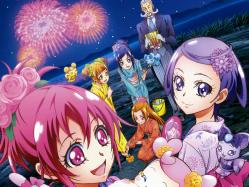 43268829 aida_mana calendar daby_(precure) hishikawa_rikka kenzaki_makoto madoka_aguri pretty_cure sebastian takahashi_akira yotsuba_alice yukata