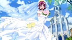 169263948 aida_ayumi dokidoki!_precure dress pretty_cure ueno_ken wedding_dress