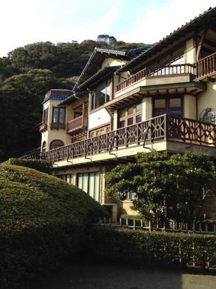 鎌倉文学館外観