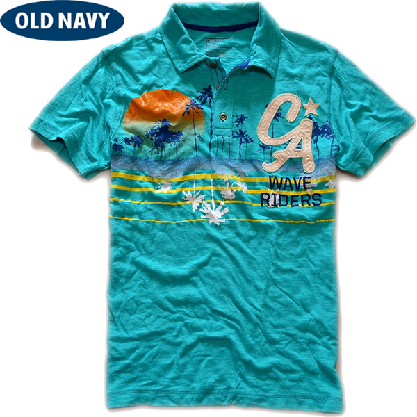 OLD NAVY画像ポロシャツ00