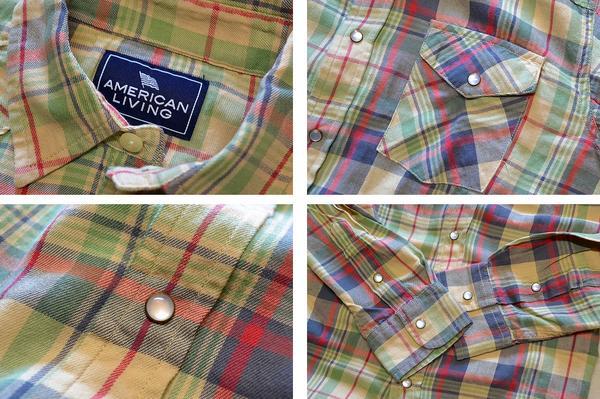 アメリカンリビング新品ネルシャツ05