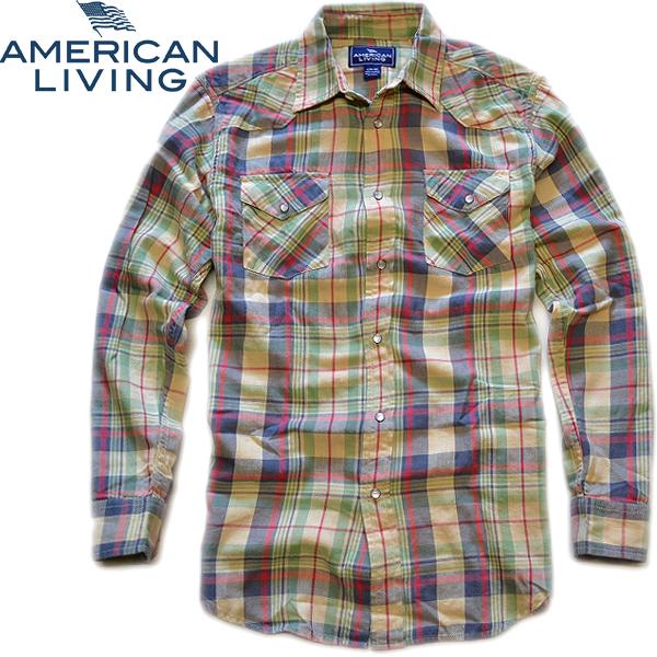 アメリカンリビング新品ネルシャツ03