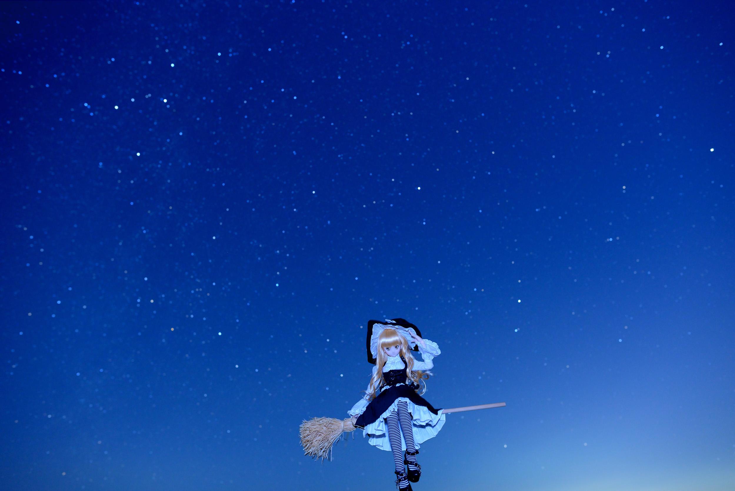 おしゃれ宇宙人blog 【ドール撮影】 秋の空だし星空を撮ってみよう