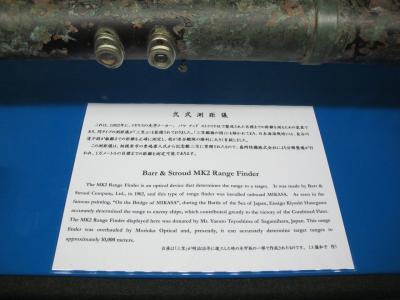 記念艦三笠 弐式測距儀