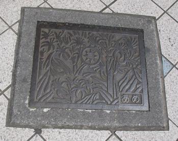 横須賀 マンホール 角形