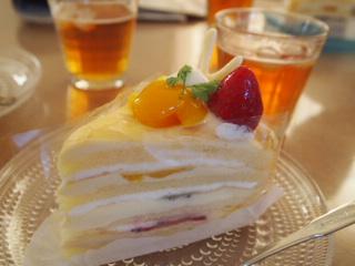 こどもの日のケーキ。
