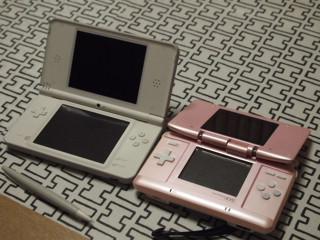 新旧DS。