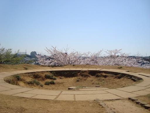 山田富士墳頂