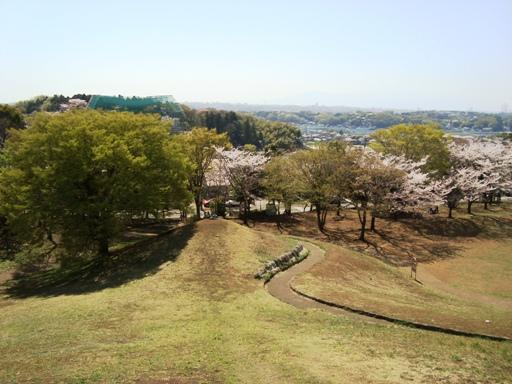 川和富士墳頂より