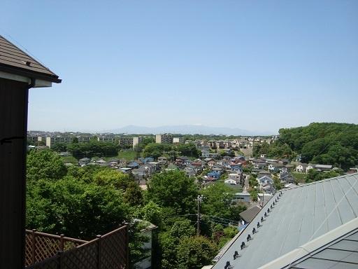 五所塚往路より富士山