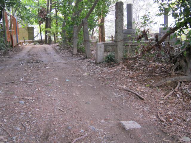 静岡陸軍墓地境界石 (5)