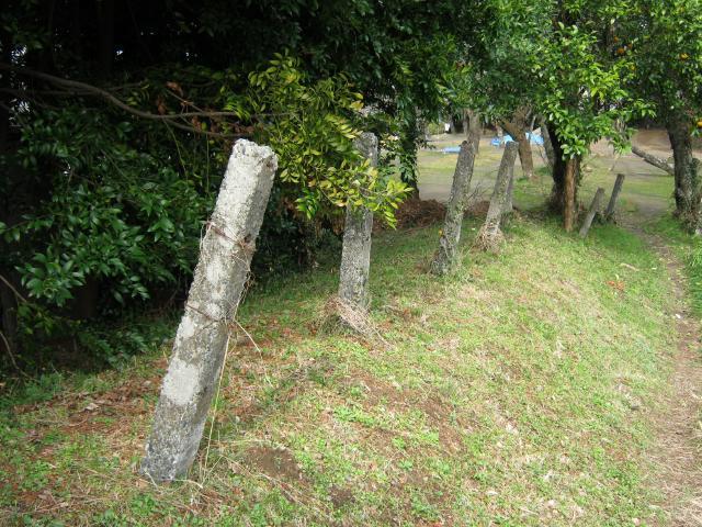 静岡陸軍墓地境界石 (4)