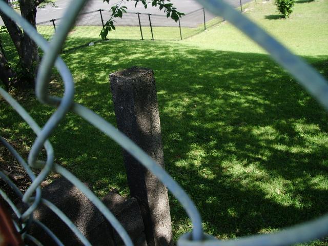鹿屋塀支柱