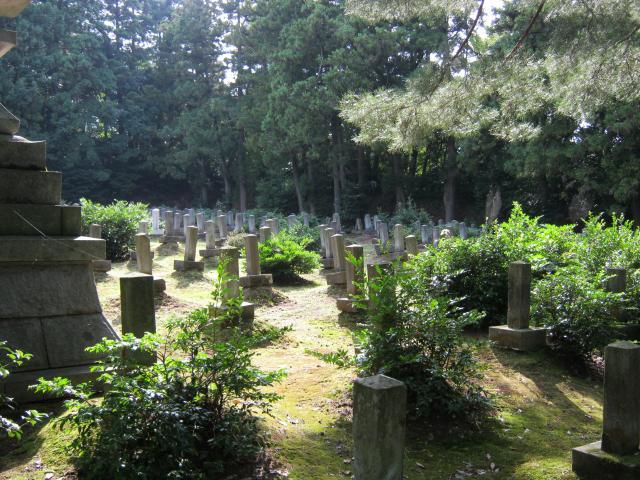 金沢陸軍墓地1 (2)
