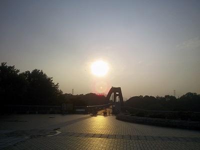 太陽が・・・