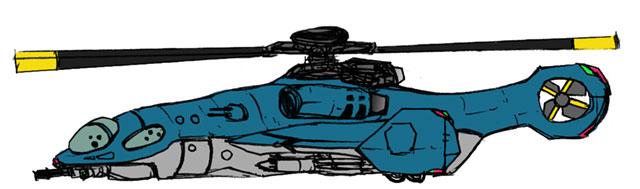 一般兵器各種-戦闘ヘリ