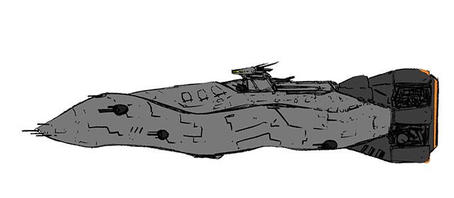 コルベット艦その1
