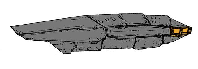 ステルス駆逐艦その1基本