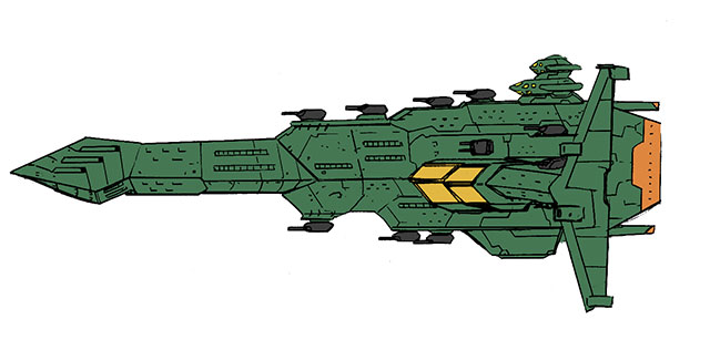 アルバトロス級宇宙戦艦