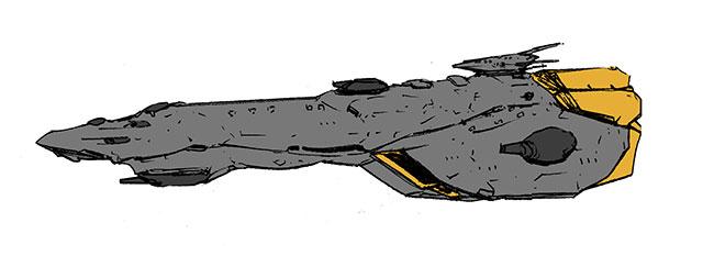 フリゲイト艦その2