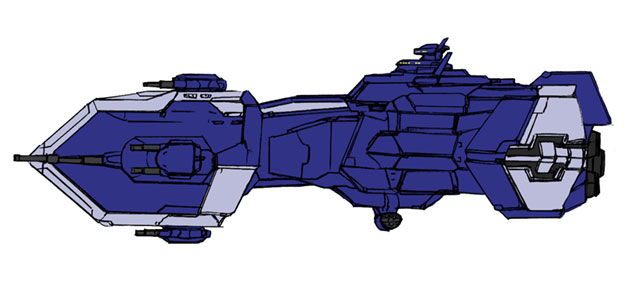 連合軍 ガーティールー戦艦