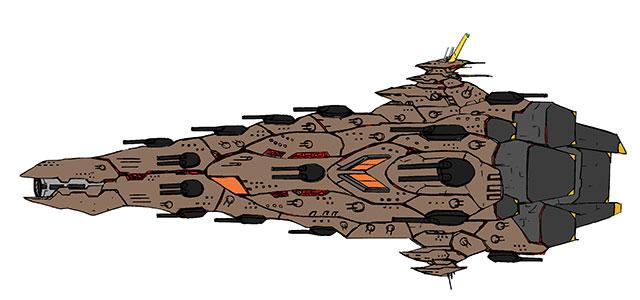 クロノス級機動重戦艦
