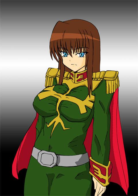 ジオン軍女性将校