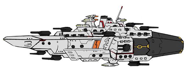 イギリス局主力戦艦