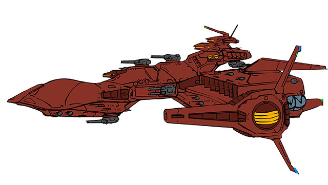 戦艦サダラーン級