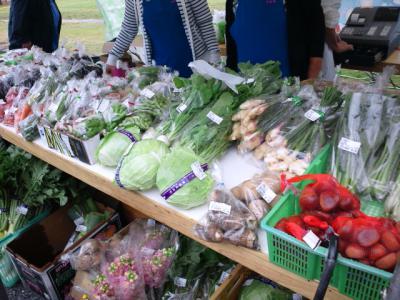 野菜販売!