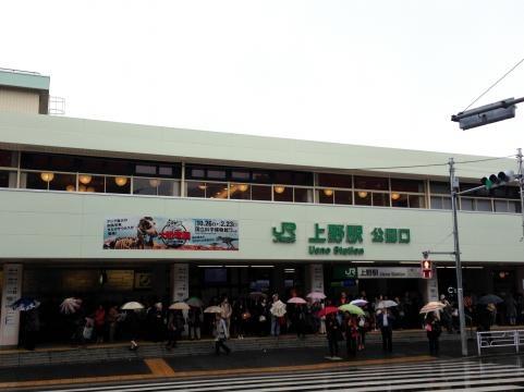 上野駅20131029