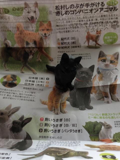 日本ペット動物大全1 日本猫(黒)