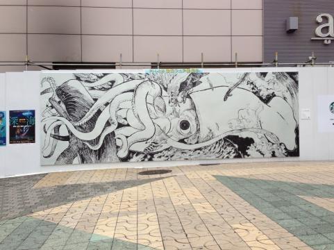 上野ダイオウイカ3